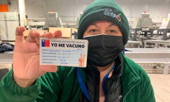 Seremi de Salud potencia vacunación contra el COVID-19 en empresas agrícolas de la región