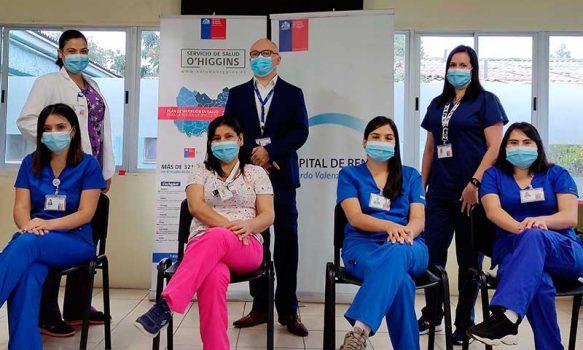 Servicio de Gastroenterología del Hospital de Rengo brindando un servicio integral a los pacientes