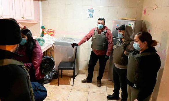 Carabineros y Salud clausuran prostíbulo clandestino en Rancagua
