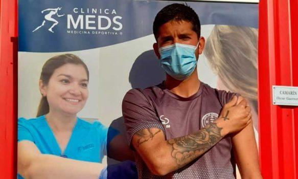 Deportes Santa Cruz participó en proceso de vacunación de la Conmebol