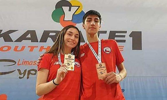 """Deportistas regionales son medallistas en la """"liga mundial de Karate"""""""