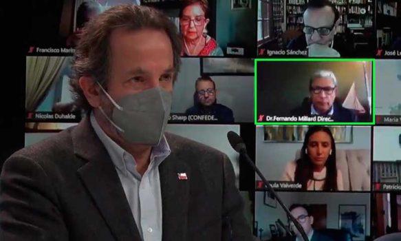"""Director de Salud O'Higgins expone en """"Jornada de escucha ciudadana del plan Paso a Paso"""""""