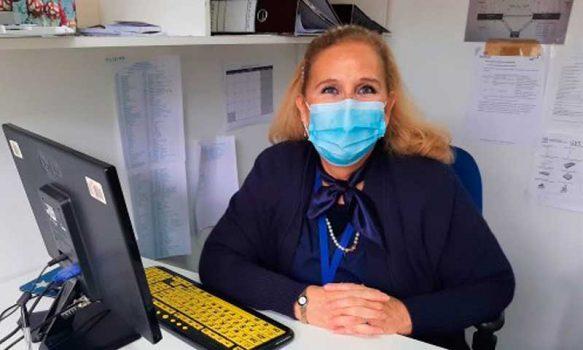 Enfermera Gloria Baird-Kerr Matus del Hospital San Fernando