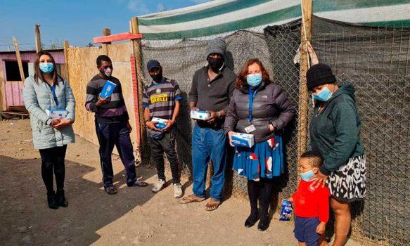 Fortaleciendo la prevención ante el Covid-19 en campamentos de la región