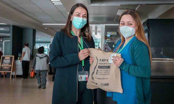 """Funcionarios del Hospital Regional se """"desembolsan"""" del plástico"""