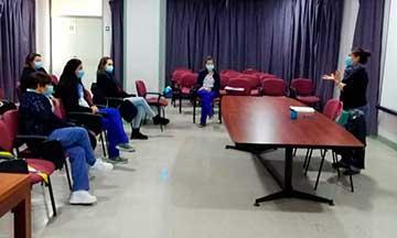 Hospital Santa Cruz apoya Salud Mental de funcionarios