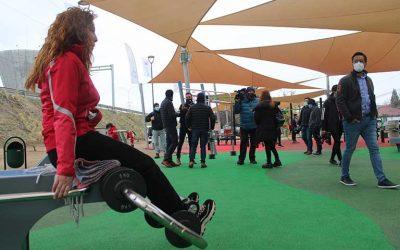 "Inaugurada en Rancagua la primera Plaza ""Elige vivir sano"" del país"