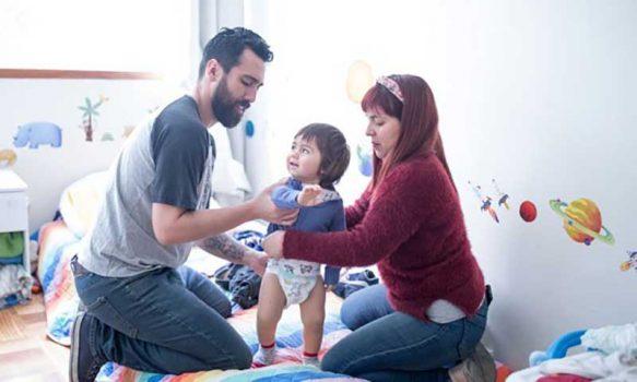 Llaman a la corresponsabilidad en el cuidado y crianza de los hijos