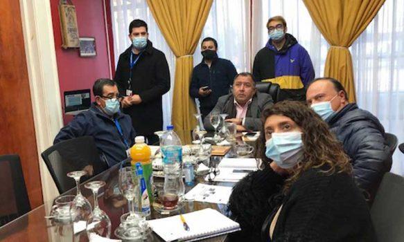 Mesa tripartita se reúne para avanzar en mejorar la salud pública de Graneros