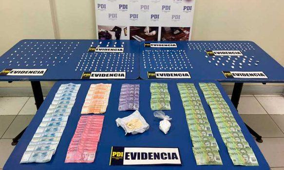 PDI desbarata puntos de venta de droga en Chimbarongo