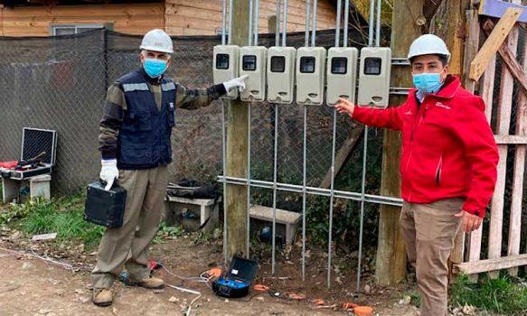 Programa La Ruta de la Luz permite conexión eléctrica domiciliaria a familias de sector rural de San Vicente
