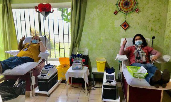 Red Asistencial de O'Higgins conmemoró Día Mundial Donante de Sangre