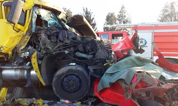 Requínoa: Accidente carretero deja un fallecido
