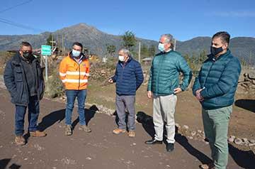 Seremi del MOP O'Higgins inspecciona obras de mejoramiento Ruta I-45 en San Fernando