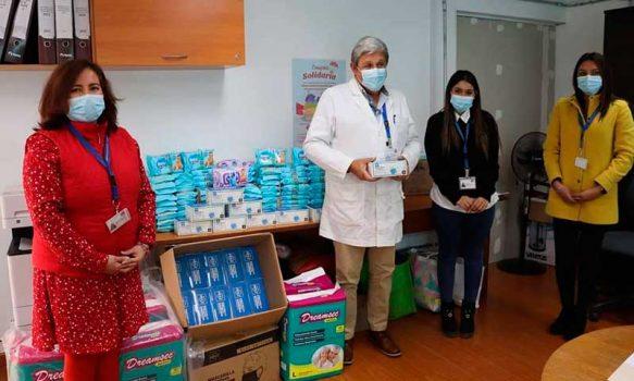 Servicio de Salud continúa campaña solidaria en tiempos de pandemia