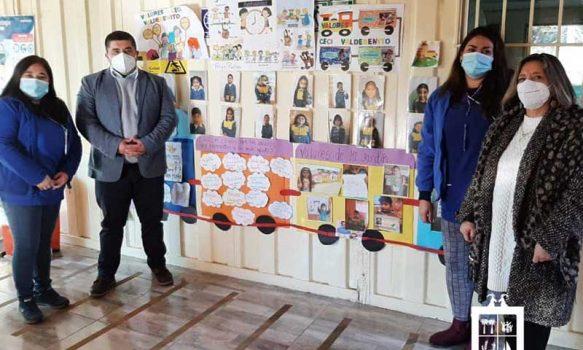 Alcalde de Las Cabras visitó jardines infantiles para verificar sus principales problemáticas