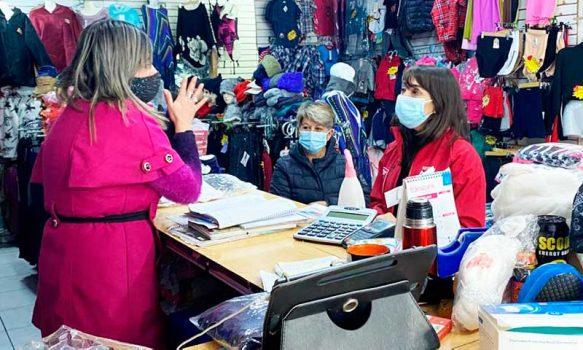 Autoridades visitan a comerciantes de San Fernando, Chimbarongo y Nancagua para entregar detalles de los subsidios al empleo