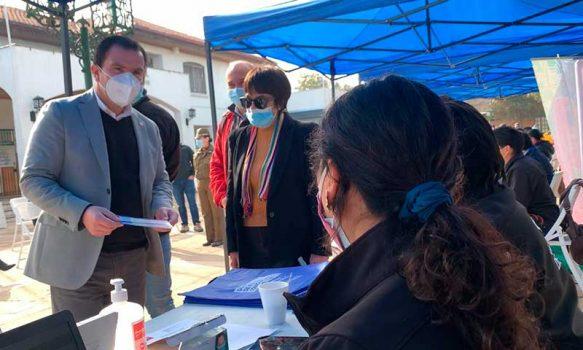 Cerca de 250 personas asistieron a un exitoso Gobierno en Terreno en Olivar