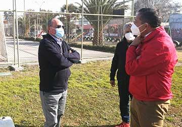 """Club Unión Manzanal recibe en comodato la """"cancha de los neumáticos"""""""