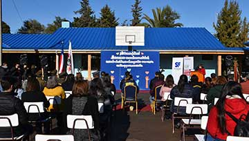 Con reinauguración de Escuela Antonio Lara Medina y Jardín Mundo Feliz SLEP Colchagua comienza segundo semestre escolar
