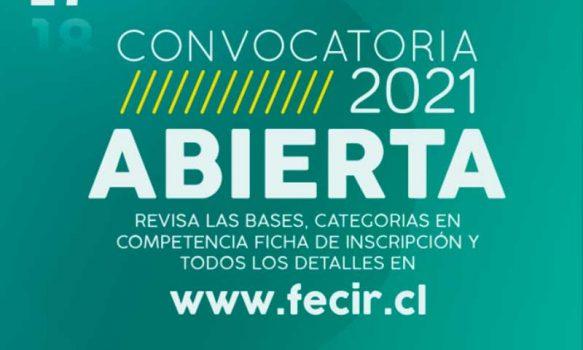 Continúa convocatoria para las diferentes categorías del 17º Festival Internacional de Cine Rengo 2021