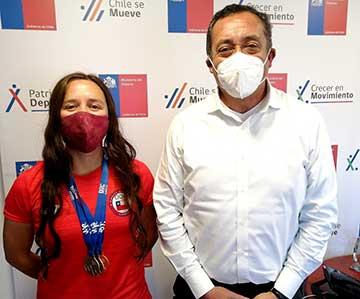 Deportista rancagüina logra medallas en el mundial de Rafting