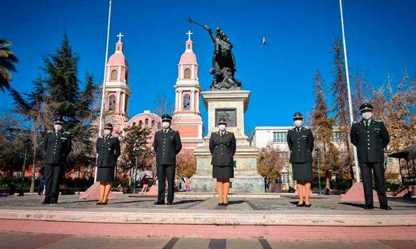 Directora regional de Gendarmería conmemora día del suboficial mayor