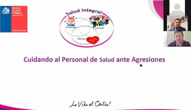 """Exitosa jornada """"Cuidando al personal de salud ante agresiones"""""""