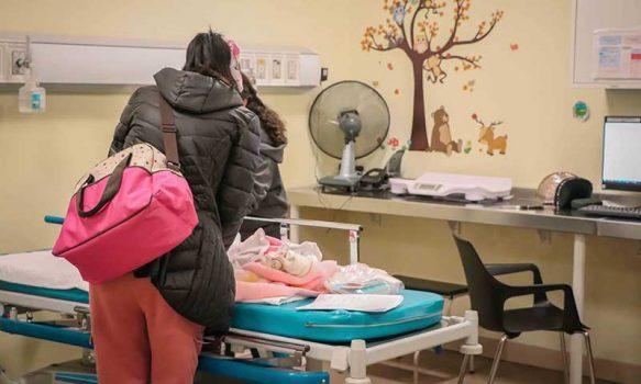 Hospital Regional de Rancagua registra disminución de enfermedades respiratorias pediátricas invernales