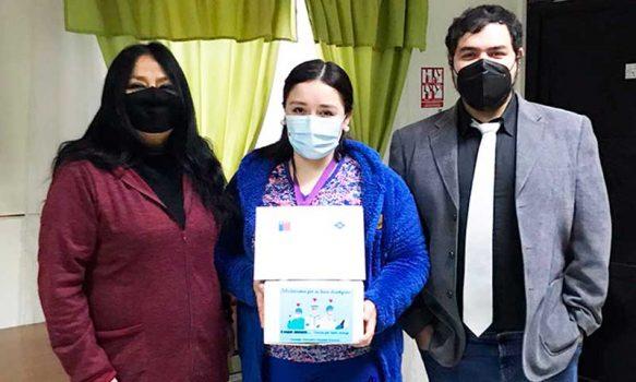 Hospitalización domiciliaria mejora la calidad de vida de los pacientes en Hospital de Graneros