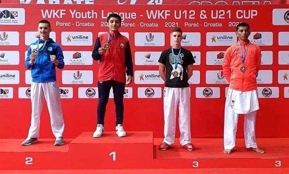 Karatecas regionales nuevamente repiten su éxito en Liga Mundial Juvenil