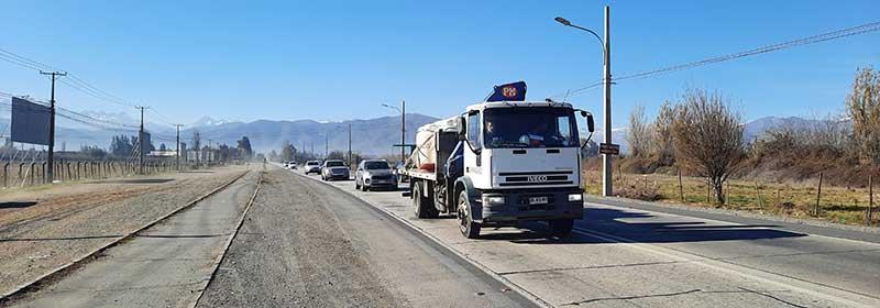 MOP O'Higgins hizo entrega de terreno a empresa que ejecutará ampliación doble vía Carretera El Cobre