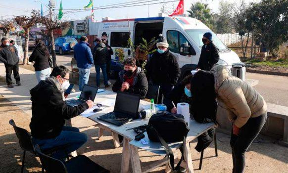 Municipio de Olivar acercó servicios públicos a los vecinos con exitosos operativos de Salud COVID-19 y Registro Civil Móvil