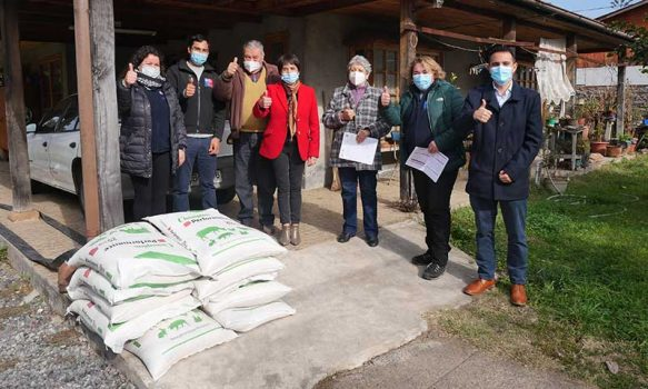 Municipio de Olivar entregó Bono Fondo de Operaciones Anual 2021 a usuarios de Prodesal