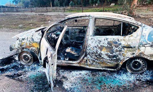 PDI detuvo a hombre que habría simulado robo y posterior incendio de su automóvil
