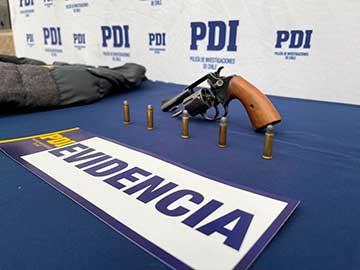 PDI detuvo a presunto implicado en violento robo a distribuidora de licores