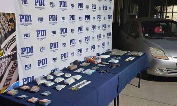 PDI realizó masiva intervención barrial contra el microtráfico en Rancagua