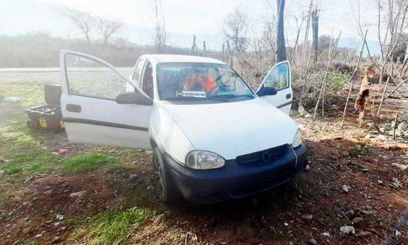 PDI recuperó auto robado a chofer de aplicación móvil en Codegua