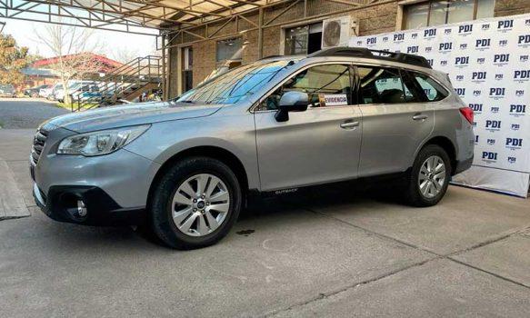 PDI recuperó automóvil que fue pagado con cheques fraudulentos