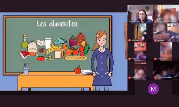 """Programa """"súper sano"""" de Agrosuper llega a los colegios en forma virtual"""