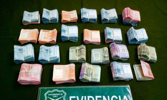 Rápido accionar de Carabineros permitió detener a mujer que hurtó importante suma de dinero a su ex pareja