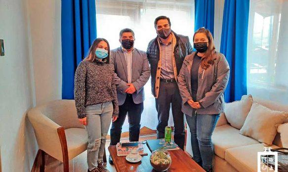 Se efectuó reunión para analizar situación del Hogar de Acogida de Las Cabras