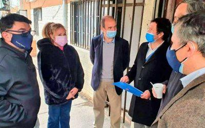 Subsecretario de Vivienda y Urbanismo encabezó inicio de entrega de subsidios habitacionales a familias de la población Baltazar Castro