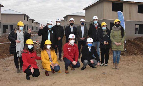 Subsecretario de Vivienda y Urbanismo visita construcción de mega proyecto habitacional en Graneros