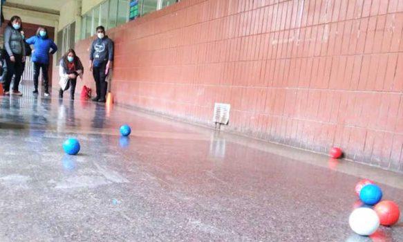 Unidad de Salud Mental del Hospital San Fernando organizó campeonato de bochas