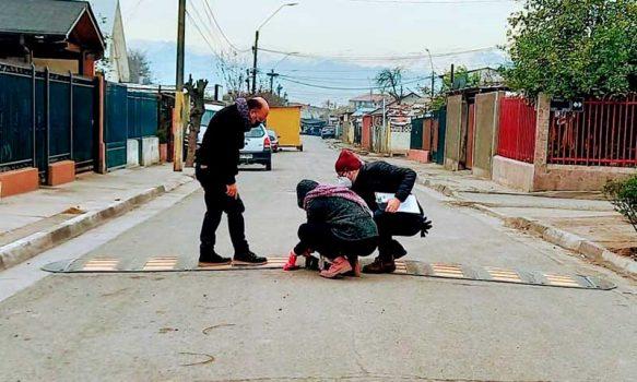 Vecinos del Barrio Dintrans, Las Rosas y la Ribera de Rancagua cuentan con más seguridad vial en sus calles gracias al Minvu