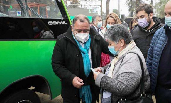 1O mil personas ya han usado el transporte gratuito para el adulto mayor en Graneros