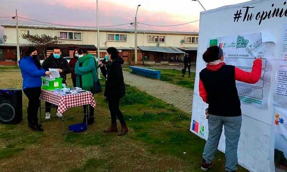 Chimbarongo: Vecinos de Manuel Rodríguez y Villas Cosme escogieron proyectos para mejorar su barrio