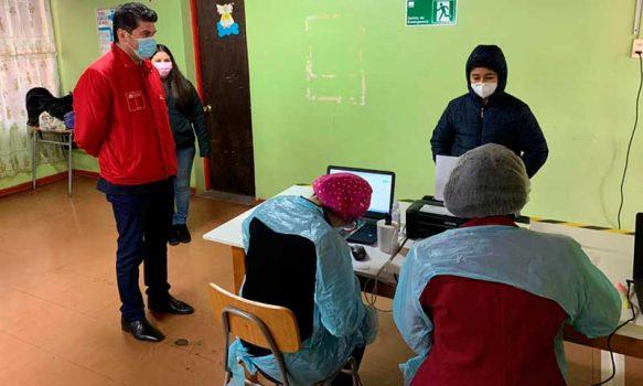 Comienzan operativos de Búsqueda Activa de Casos en colegios de la región
