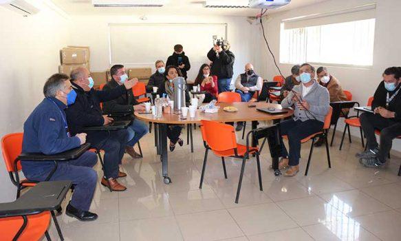 Comisión de salud del CORE analiza proyectos de mejoramiento para el Hospital San Fernando